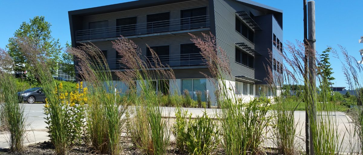 Permalien à: Construction Parc Beepos Bâtiment 1 certifié BBC Effinergie 2015