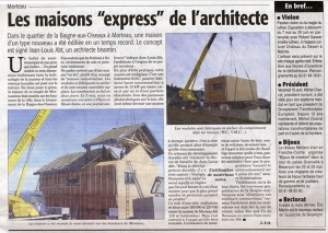 article presse maison morteau