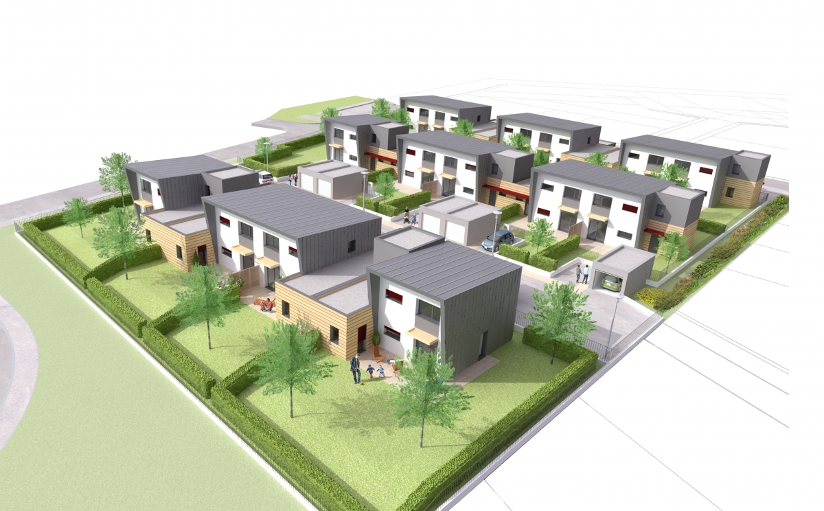 Logements individuels grand charmont h 39 abt architecture for Architecte 3d vue 3d
