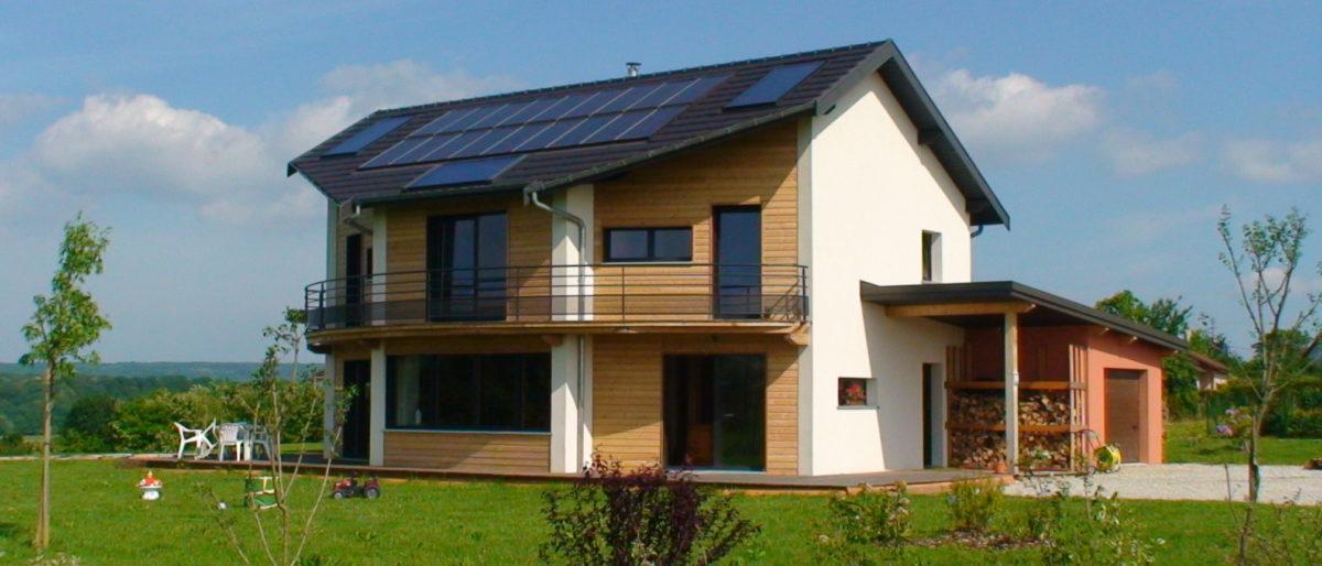 Permalien à: Construction à Cussey-sur-l'Ognon Primée 1er Prix Grenelle de l'environnement 2010