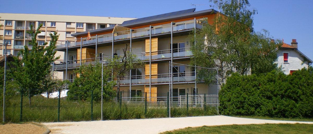 Permalien à: Construction Bioclimatique Résidence Le Saint Louis certifié BBC-effinergie 2005